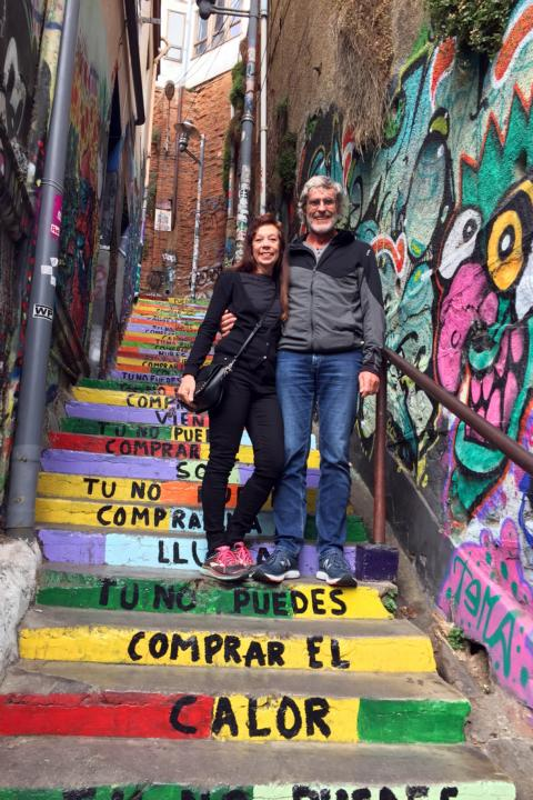 """Hans and Claudia P.: """"We are excited about the perfect planning of our journey through Chile in a period of four and a half weeks in February/March 2020 with Chile Central."""""""