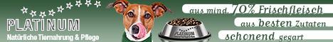 Mit Platinum Hundefutter werden unsere Hunde optimal ernährt
