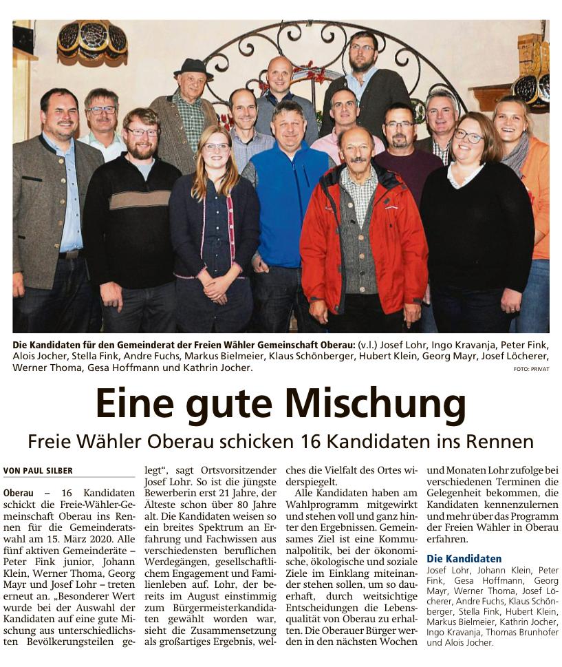 Garmisch-Partenkirchner Tagblatt vom 27.11.2019
