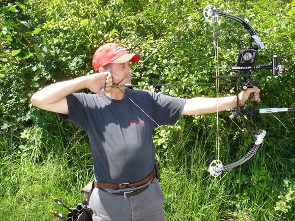 Vizeweltmeister Hans Flühmann im Training