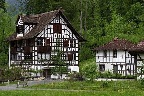 Riegelhaus von Richterswil auf dem Ballenberg