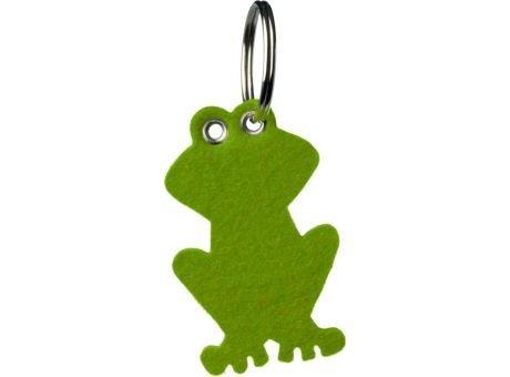 Wollfilz Schlüssellanhänger Frosch