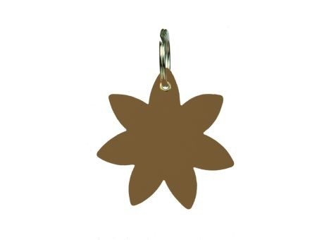 Wollfilz Schlüssellanhänger Blume