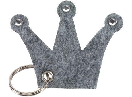 Wollfilz Schlüssellanhänger Krone