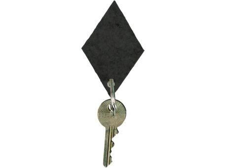 Wollfilz Schlüssellanhänger Raute