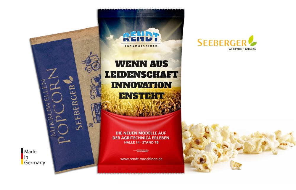 Seeberger Mikrowellen Popcorn