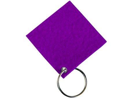 Wollfilz Schlüssellanhänger Quadrat