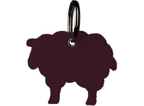 Wollfilz Schlüssellanhänger Schaf