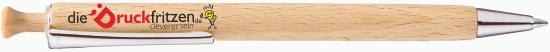 Holzkugelschreiber UMA bedrucken