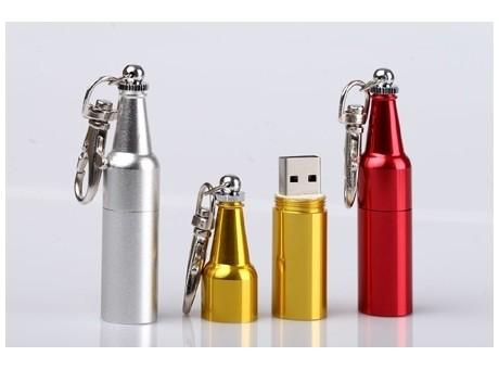 USB-Stick Metallbehälter ab 100 Stück in Wunschfarbe