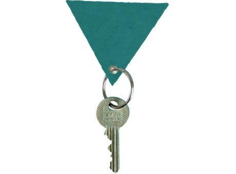Wollfilz Schlüssellanhänger Dreieck