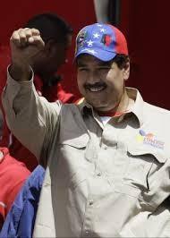 il presidente incaricato Nicolàs Maduro