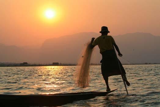 Lac en Inde de Sylvain Pezeril