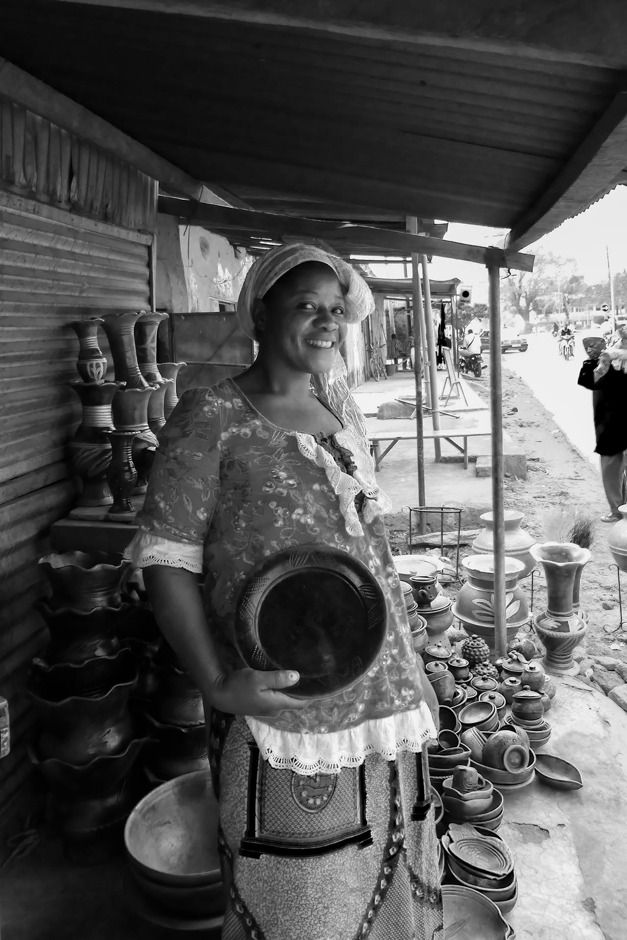 Ma potière préférée. 2014, BOBO DIOULASSO, Burkina Faso