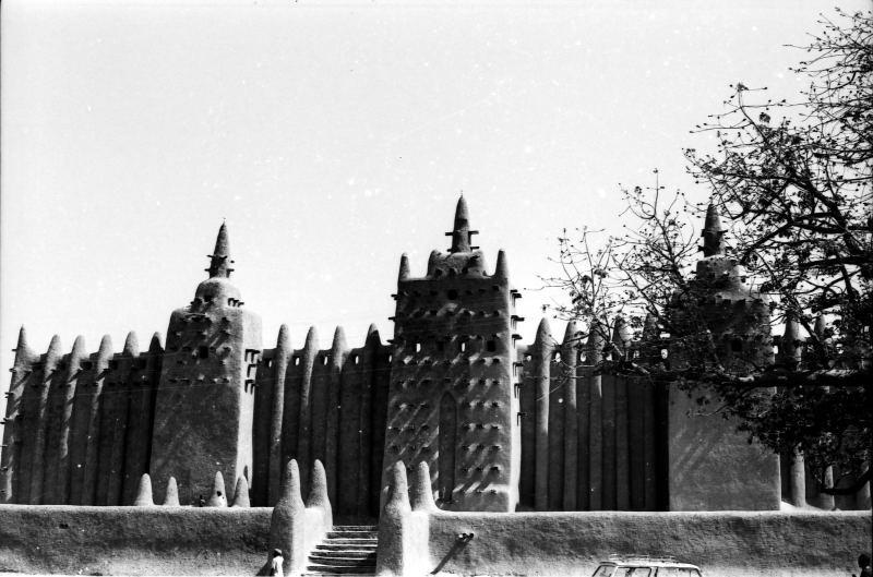 Entrée de la Mosquée de Djenné