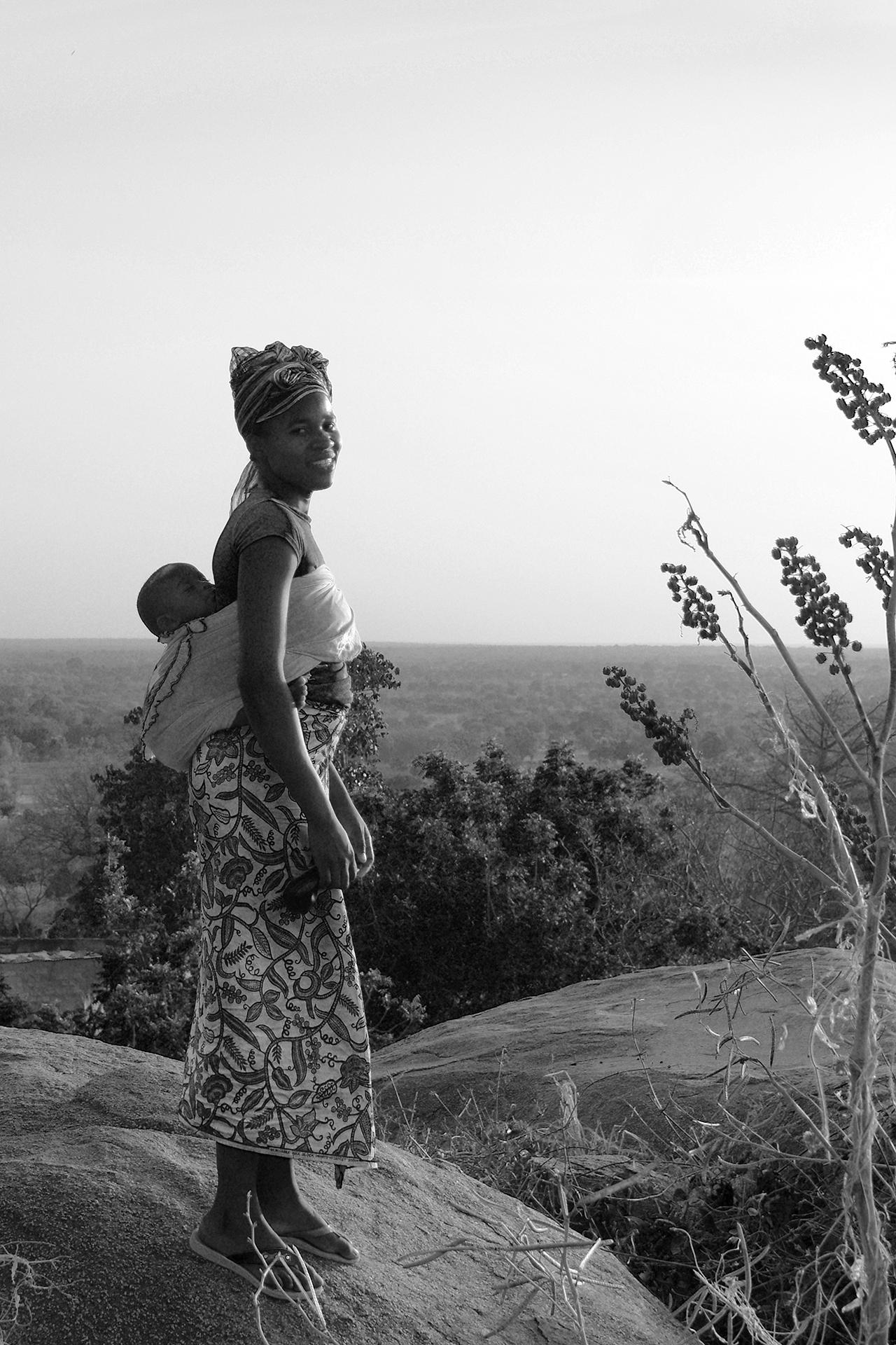 AWA, guide de grande randonnée. 2014 KORO, région de BOBO DIOULASSO, Burkina Faso