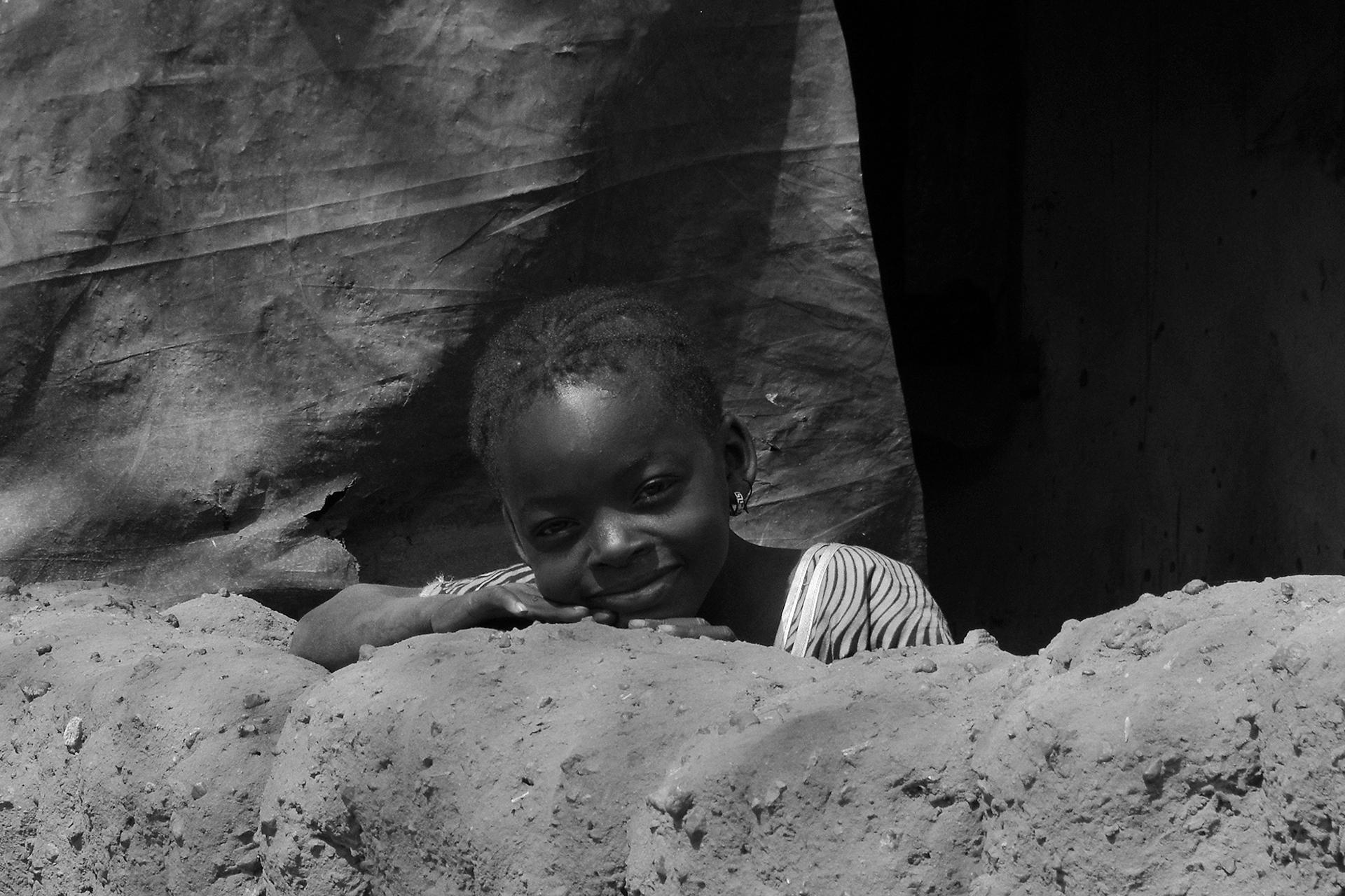 Sourire, gentil sourire. 2014, KOUMI, région de BOBO DIOULASSO, Burkina Faso