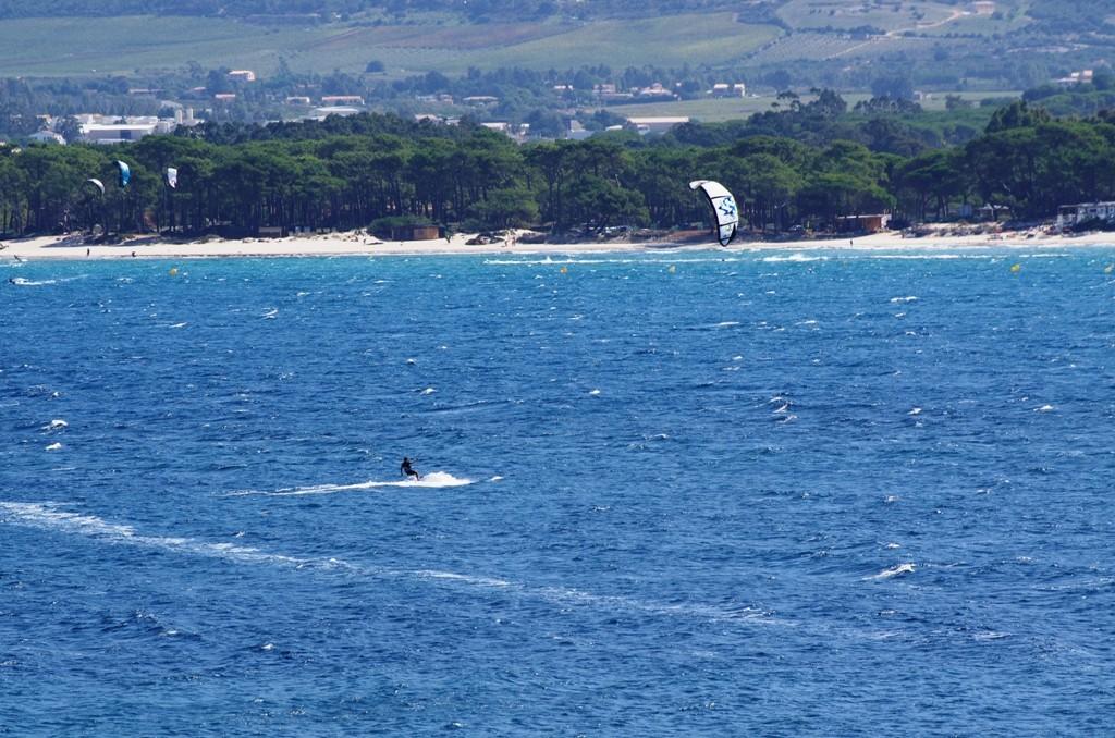 Bleu kitesurf
