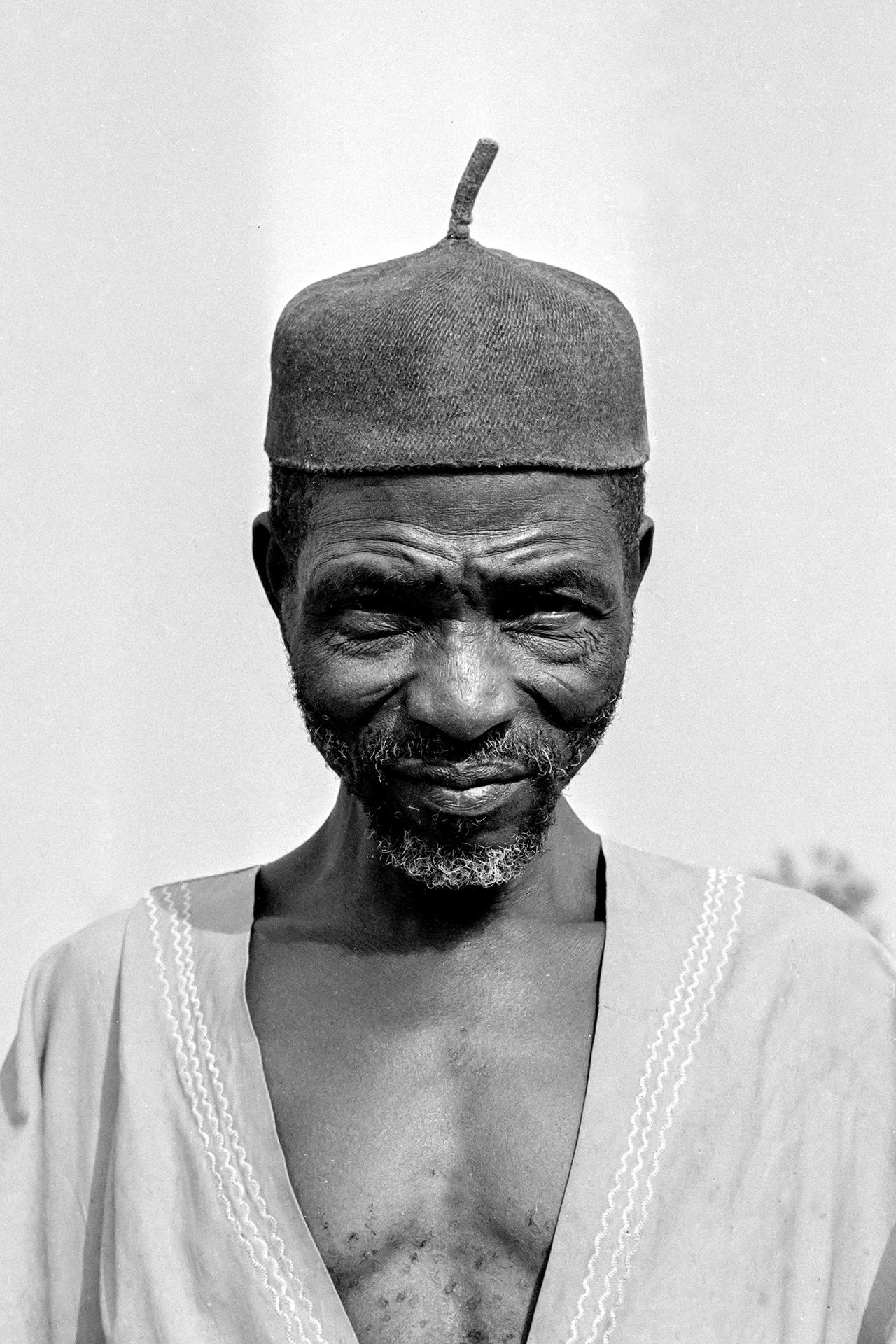 Paysan des bords du Niger. 1970, MOPTI, Mali