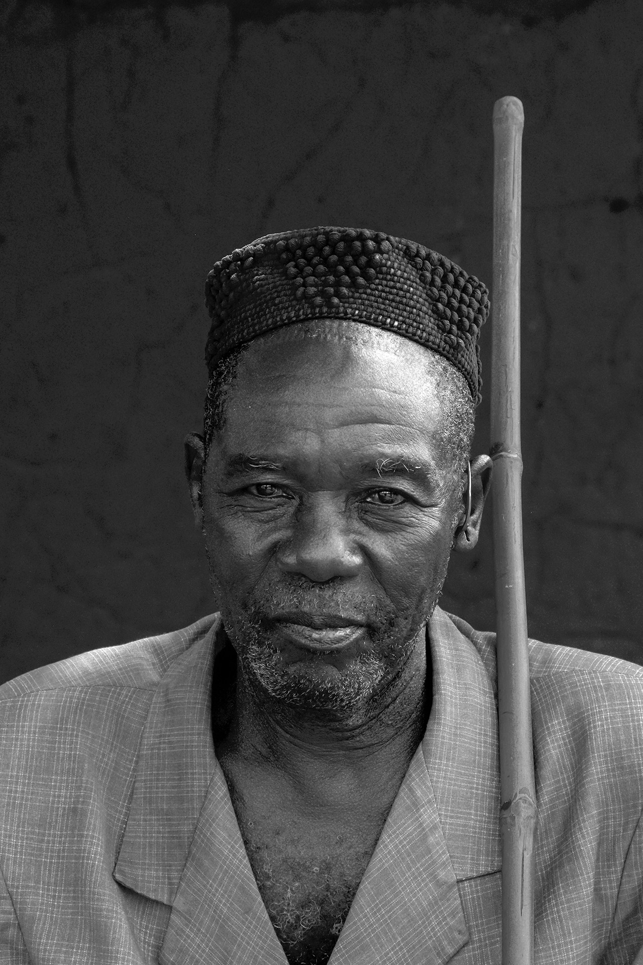Le chef du village de KOUMI. 2014, KOUMI, région de BOBO DIOULASSO, Burkina Faso