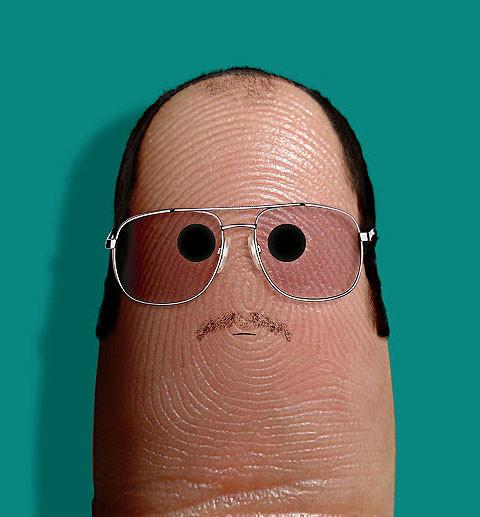 пальцы лица дито вон тиса