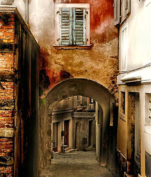фотографии старых городов