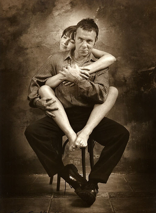 Portrair of Jan Saudek, 2001