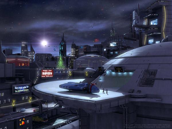 космодром будущего