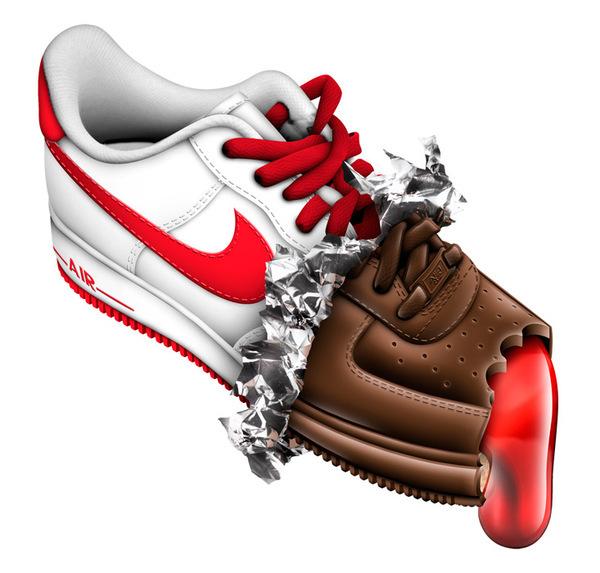 дизайн для компании Nike