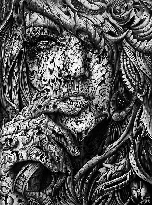 иллюстрация рисунок вдохновение