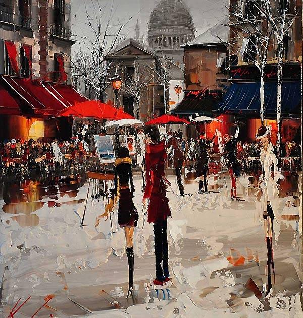 зарисовки Парижа