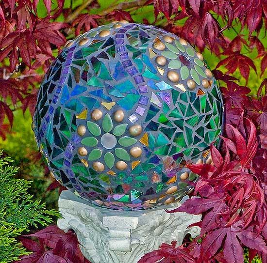 мозаика и шары