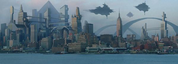 ландшафты городов будущего