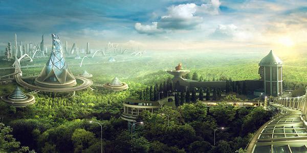 райский город