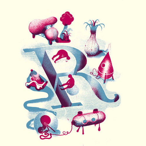 Иллюстрация алфавита