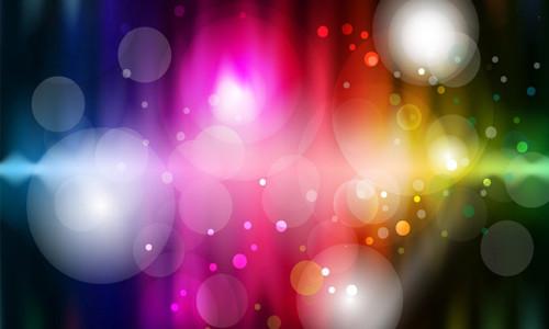 Абстрактный фон с эффектом буке