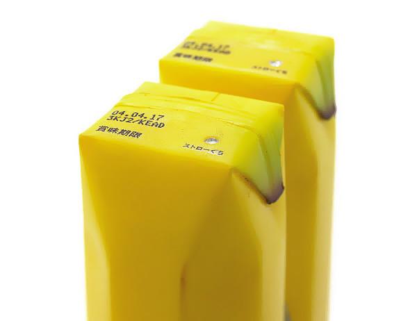 Упаковка сока банан
