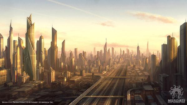 проспекты городов будущего