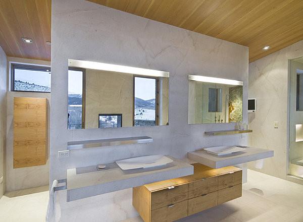 световой декор ванной