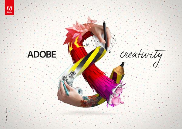 Брендинг для компании Adobe &