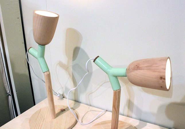 Дизайн настольного светильника