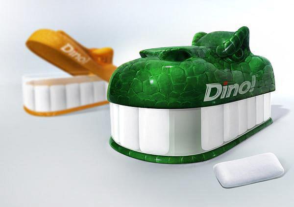 Дизайн упаковки жевательной резинки