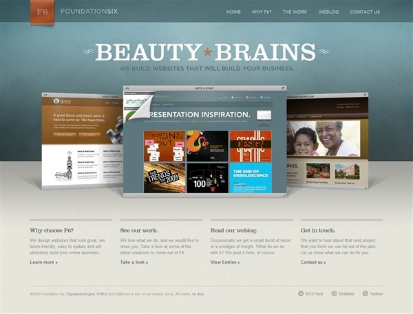 Foundation Six Web Design Studio