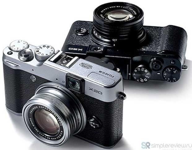 дизайн камеры Fujifilm