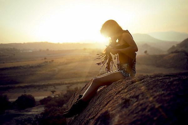 Романтическая фотография Джоэл Сосса