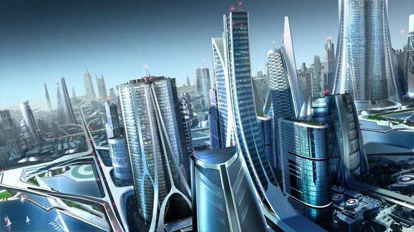 небоскребы городов
