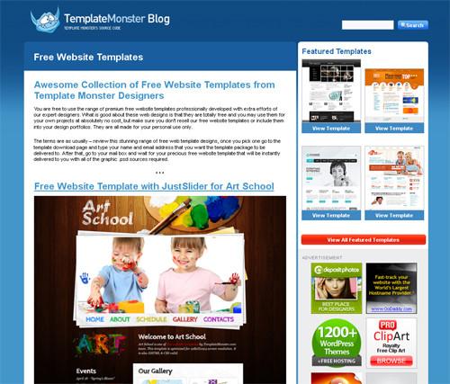 Бесплатные шаблоны веб-сайтов