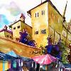 Городские акварели Тиленти