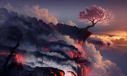 Иллюстрация рисунок Scorched earth