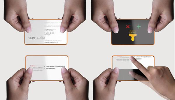 Электронные визитные карты